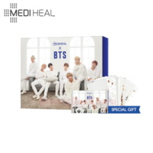 MEDIHEAL Hydrating Moisture Care Special Set 3items [BTS Edition],MEDIHEAL